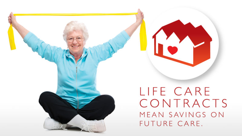 Life Care Contracts Mean Savings
